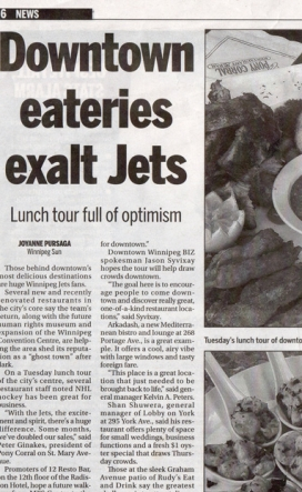 20120718@ Sun Downtown eateries exalt Jets
