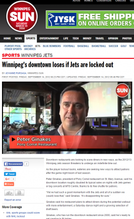 20120914@Sun Winnipeg's downtown loses if Jets are locked out