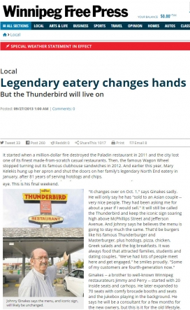 20130927 Legendary eatery changes hands