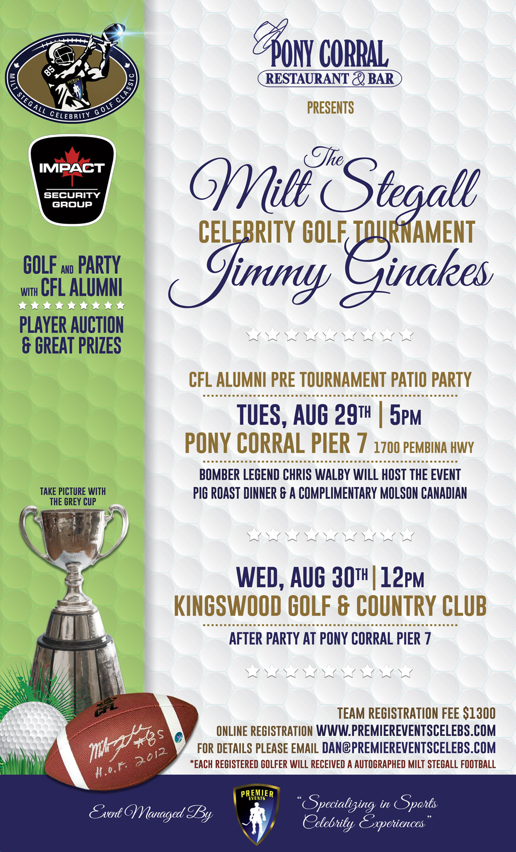 Mils Steal & Jimmy Ginakes Golf Tournament - Pony Corral Pier 7