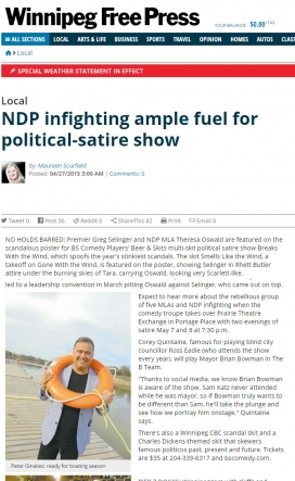20150427 NDP infighting ample fuel for political-satire show