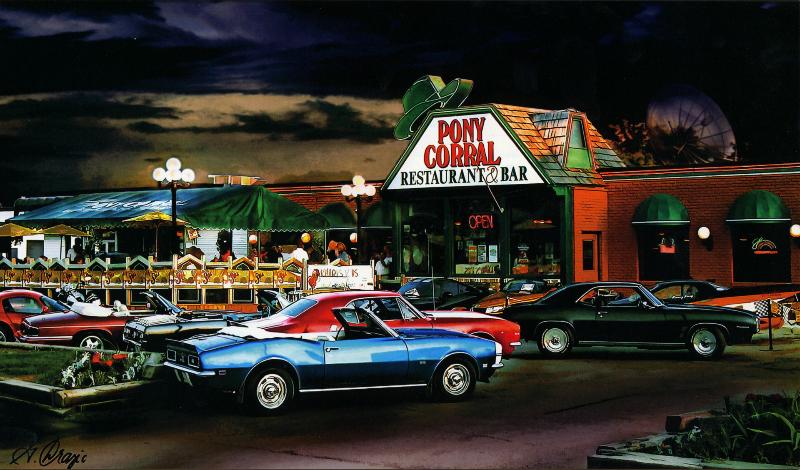 Pony Corral Restaurant Bar Nairn Ave Winnipeg Mb