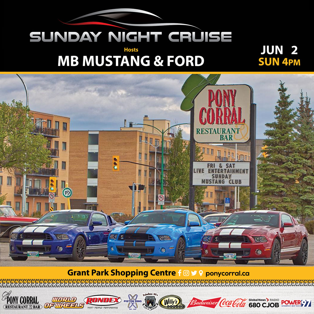 Sunday Night Cruise - Pony Corral Grant