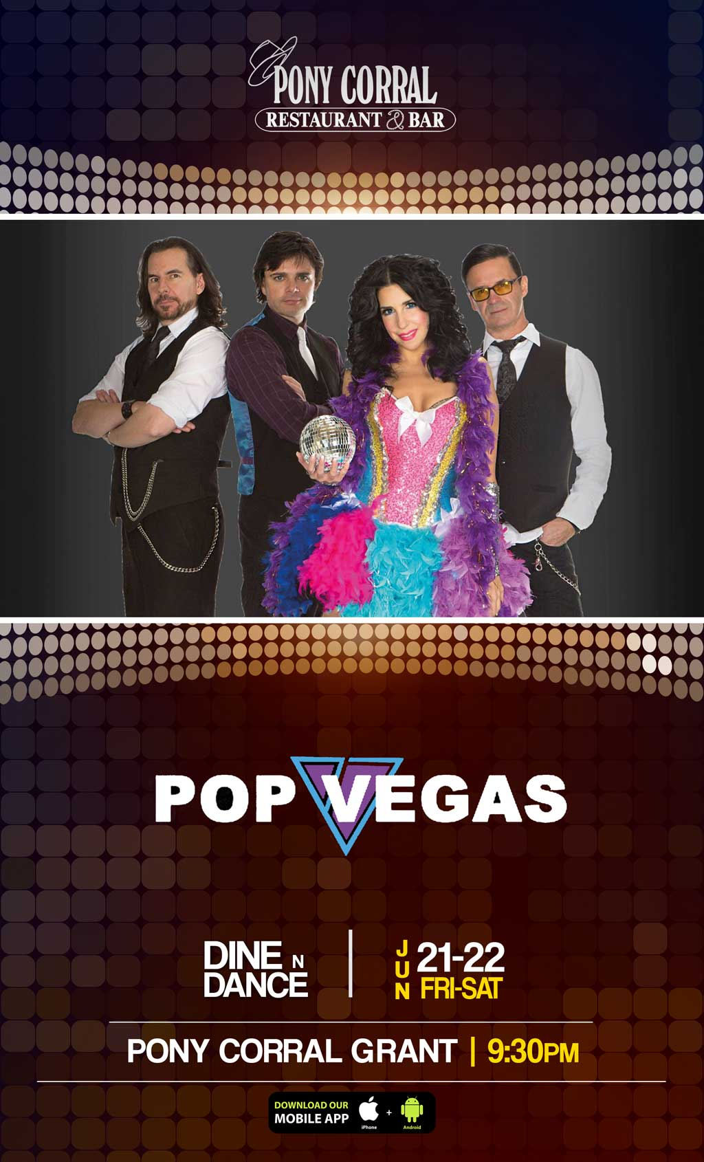 Pop Vegas Band at Grant | Pony Corral Restaurant & Bar | Winnipeg