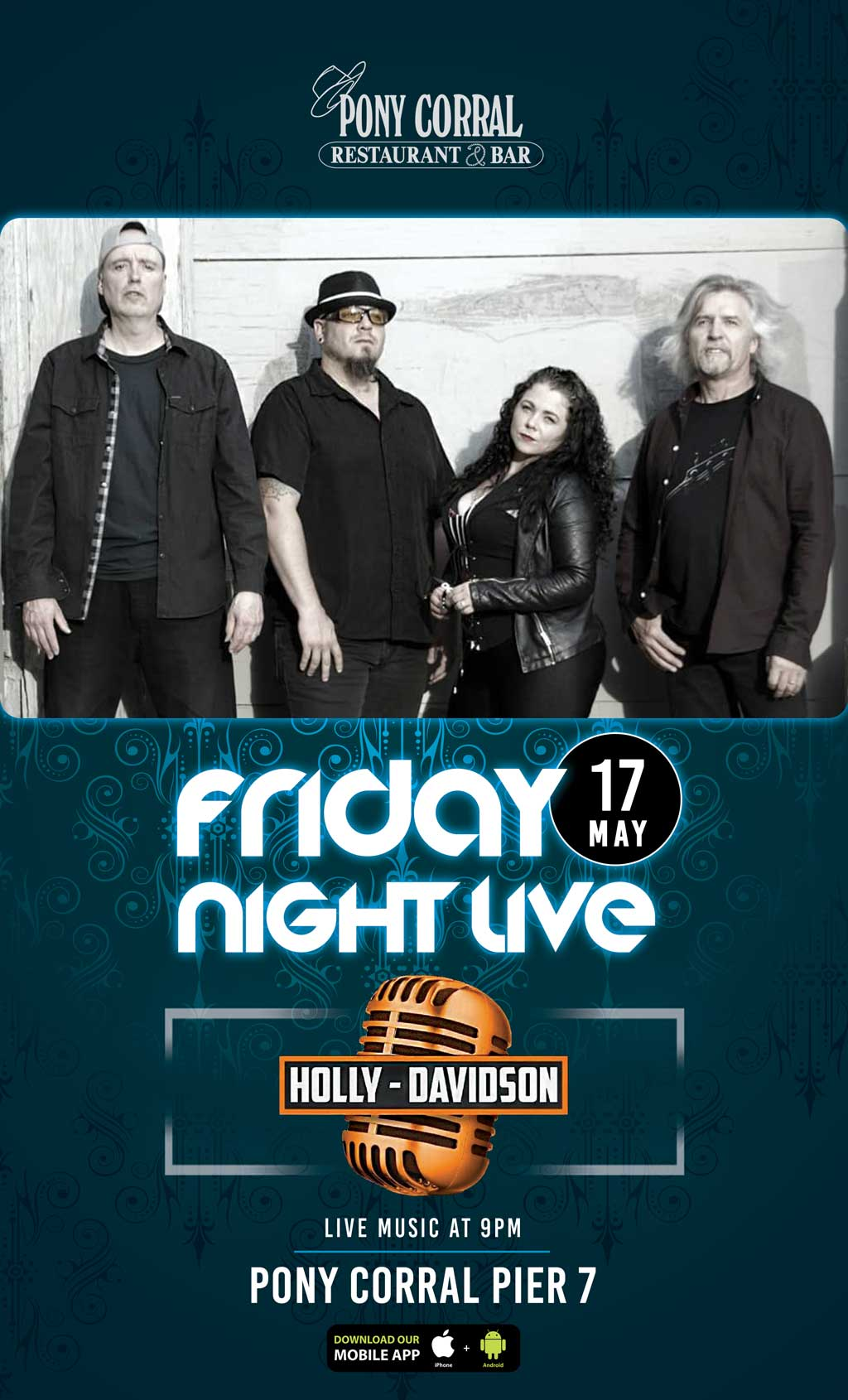 Holly Davidson Band at Pier 7 | Pony Corral Restaurant & Bar | Winnipeg